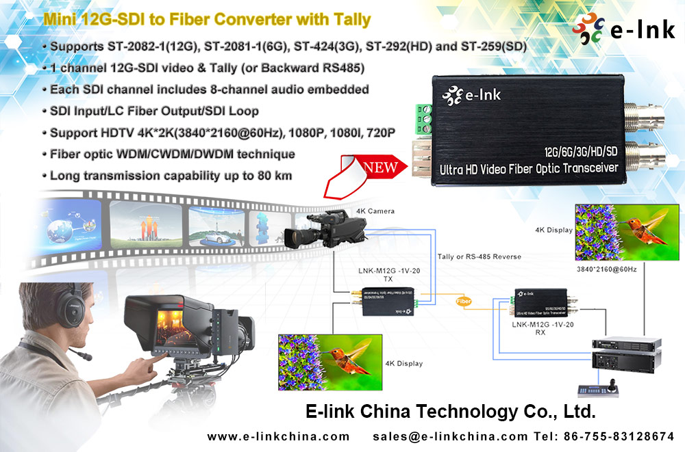 Q&A about 12G/6G/3G/HD-SDI Video Fiber Extender